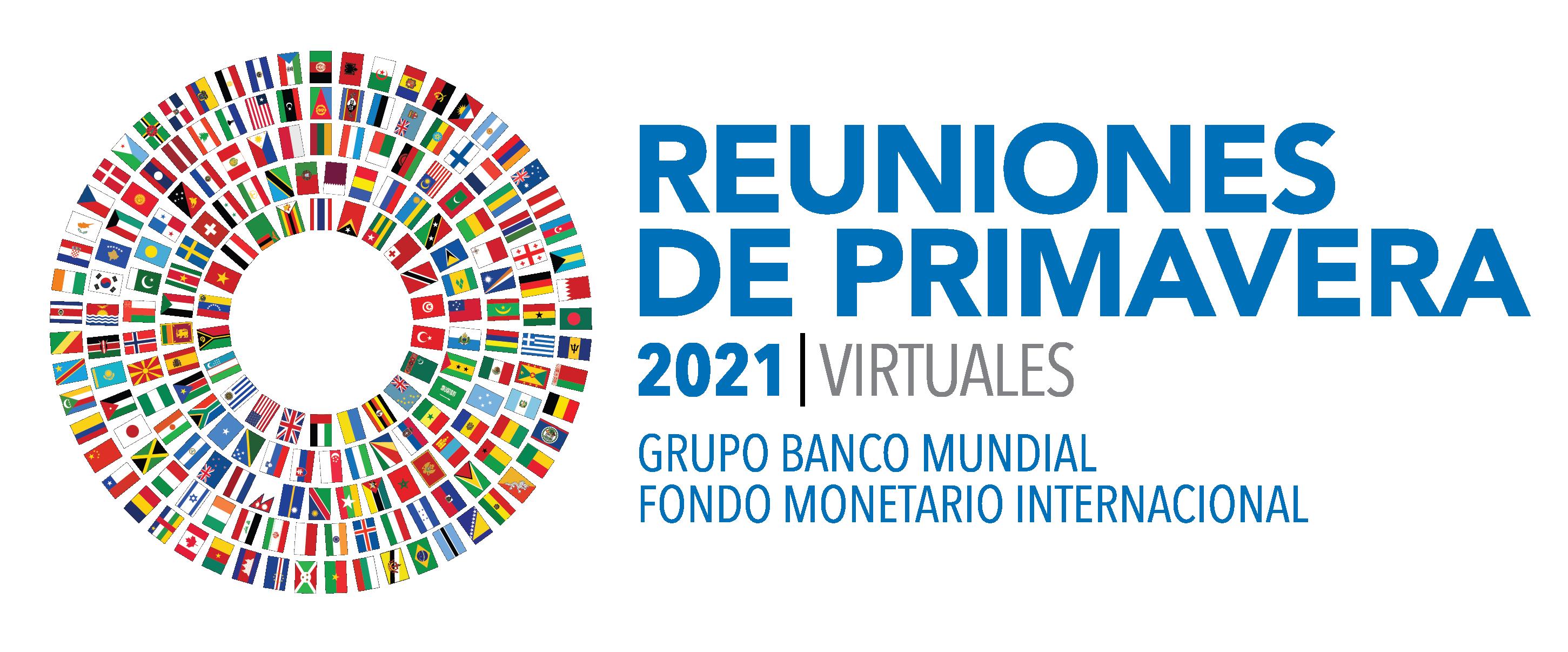 Logo de las Reuniones de Primavera 2021 | Banco Mundial - FMI